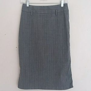UNITED COLORS OF BENETTON wool pin striped skirt